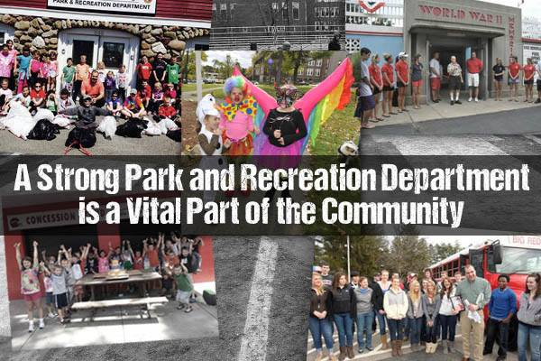 The Department of Parks and Recreation is much more than playgrounds and programs. The Department is responsible for 28 sights, memorials, and parks. They manage over 200 acres of property. They have close to 6,500 participants in different programs they manage in town. They are an integral part of this community. And they are, once again, facing large scale cuts and continued losses. Since 2008, Parks and Rec has had to make consistent cuts to their programs, staffing, and services. The attached PDF is what was presented by Director Steven Carvalho at the April 22nd Finance Committee meeting... Click to read more