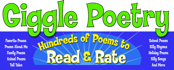 Click to visit the #1 Fun Poetry Site for kids on the web!